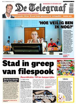 De Telegraaf cover