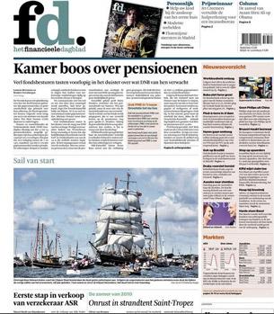 FD. Het Financieele Dagblad proefabonnement