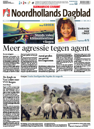 NoordHollands Dagblad cover