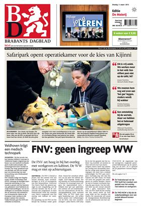 Brabants Dagblad cover