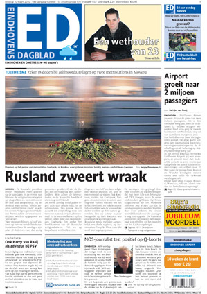 Eindhovens Dagblad cover