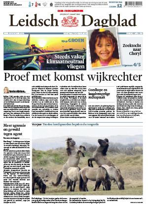 Leidsch Dagblad cover