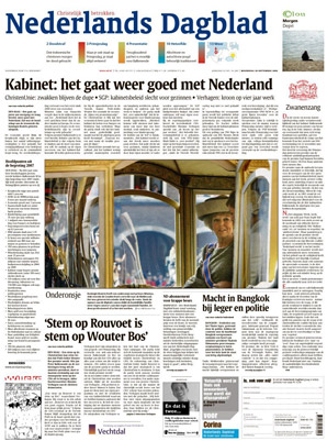 Nederlands dagblad abonnement