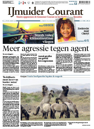 IJmuider Courant cover