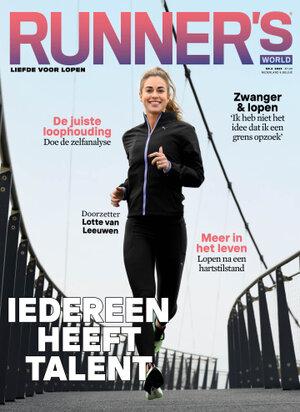 Cover van het magazine Runner's World