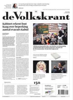 de Volkskrant cover