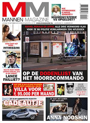 Mannen Magazine cover