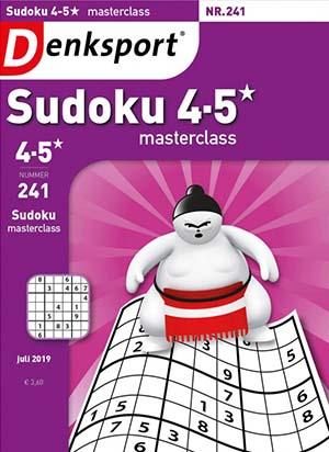 Sudoku 4-5* Masterclass cover