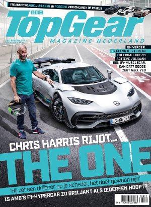 TopGear Magazine cover