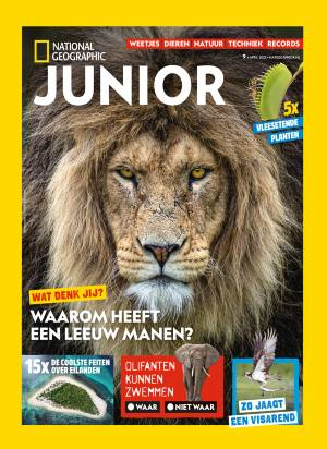 National Geographic Junior cover
