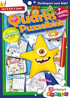 Quarks puzzelboek  cover