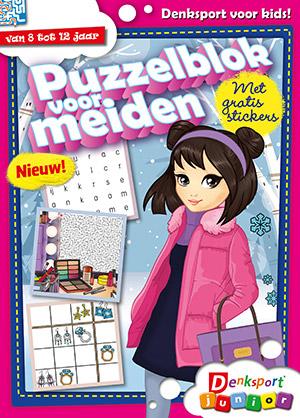 Puzzelblok voor meiden  cover
