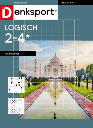 Logisch 2-4* vakantieboek