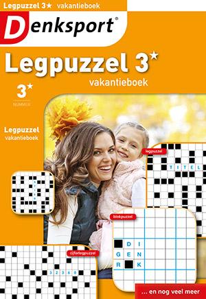 Denksport - Legpuzzel vakantieboek