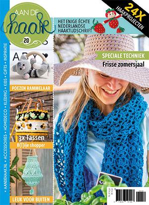 Cover van het magazine aan de Haak