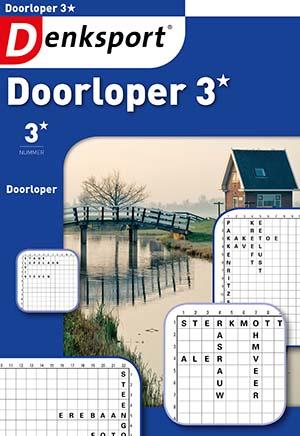 Denksport Doorloper 3 sterren is een leuke doorloperuitgave.