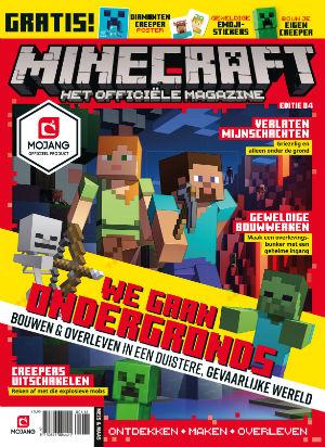 Abonnement en aanbieding op het blad Minecraft