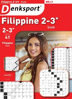 Filippine 2-3* puzzelboek