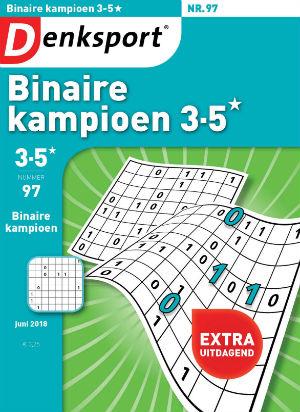 Binaire 3-5* kampioen  cover