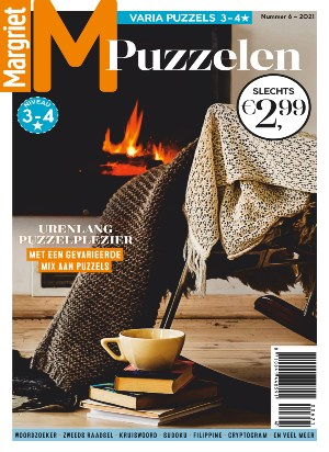 Margriet Puzzelen  cover