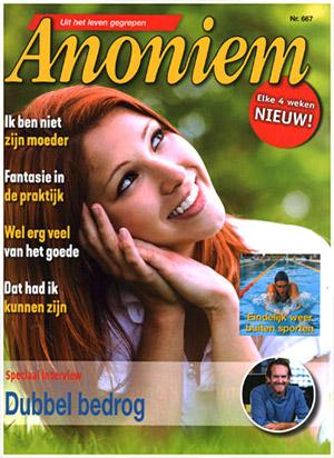 Abonnement en aanbiedingen op het blad Anoniem
