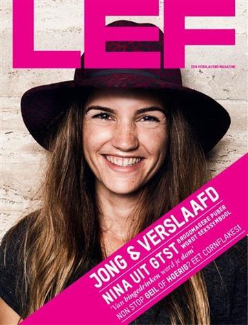Abonnement en aanbieding op het blad Lef Magazine