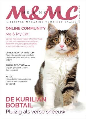 Abonnement en aanbieding op het blad Me & My Cat
