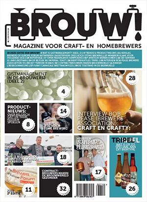 Abonnement en aanbieding op het Brouw! Magazine