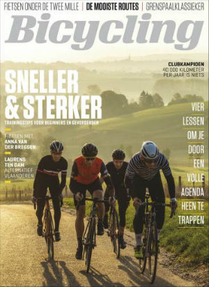 Cover van het magazine Bicycling