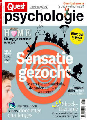 Cover van het magazine Quest Psychologie