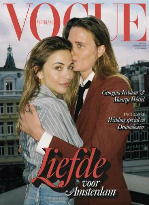 Cover van het magazine Vogue