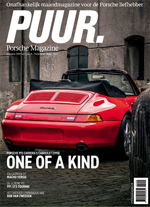PUUR Porsche Magazine cover