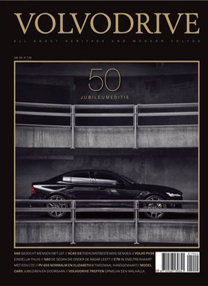 Volvodrive Magazine cover