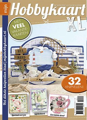 Cover van het magazine Mijn Hobbykaart XL