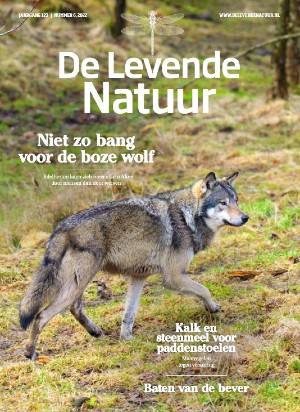 Cover van het magazine De Levende Natuur