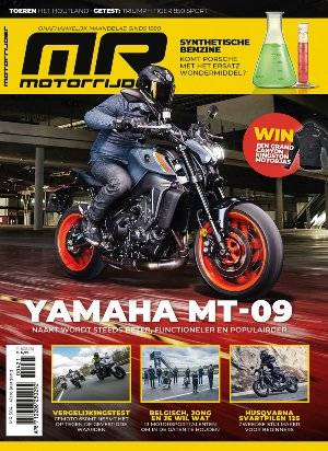 Motorrijder Magazine cover