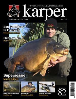 Abonnement en aanbieding op het zes jaarlijkse blad Karper